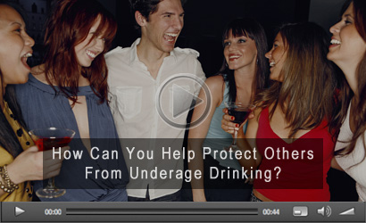 Help Prevent Underage Drinking